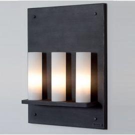 Aplica din fier forjat cu doua surse de lumina WL 3583