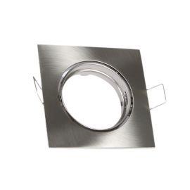 Rama Spot incastrabil perete / tavan SAND nickel - SULION - Spoturi tavan fals