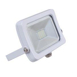 Proiector LED exterior MASINI alb 10W 3000K - SULION - Proiectoare