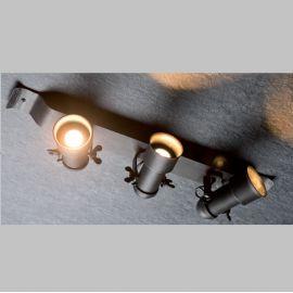 Lustra cu 3 spoturi directionabile din fier forjat ST 2628 - Robers - Lustre, Candelabre Fier Forjat