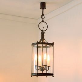 Lustra design rustic din fier forjat HL 2428 - Robers - Lustre, Candelabre Fier Forjat