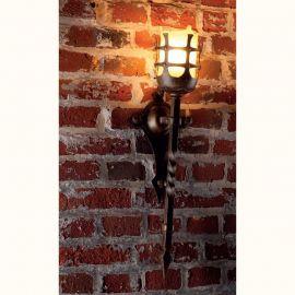Aplica/ Torta din fier forjat realizat manual in stil gotic WL 3477 - Robers - Aplice perete Fier Forjat
