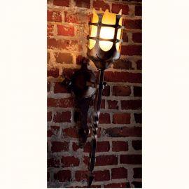 Aplica/ Torta din fier forjat realizat manual in stil gotic WL 3478 - Robers - Aplice perete Fier Forjat