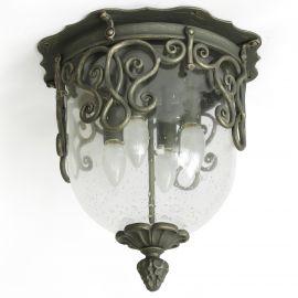 Plafoniera impresionanta din fier forjat DE 2246 - Robers - Lustre, Candelabre Fier Forjat