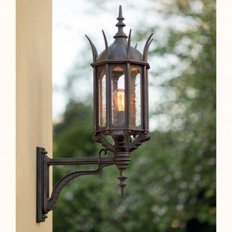 Aplica iluminat exterior din fier forjat WL 3667 - Robers - Aplice Exterior Fier Forjat