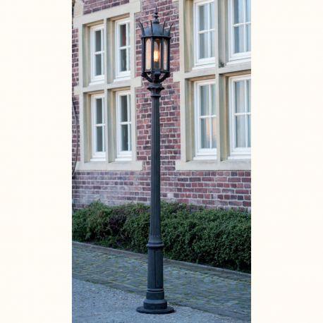 Stalp iluminat exterior din fier forjat, inaltime 269cm AL 6868