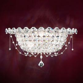 Aplica eleganta design LUX cristal Spectra, Chrysalita - LUX Swarovski Lighting - Aplice Cristal Schonbek