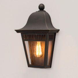 Aplica 1/2 iluminat exterior din fier forjat, WL 3642