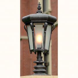Stalp iluminat exterior din fier forjat, inaltime 86,2cm, AL 6781