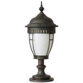 Stalp iluminat exterior din fier forjat, inaltime 60cm, AL 6613