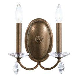 Aplica design LUX cu cristale Heritage, Modique MD1002 - Lux Lighting Schonbek - Aplice Cristal Schonbek