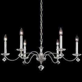 Candelabru 6 brate design LUX cu cristale Swarovski, Modique MD1006 - Lux Lighting Schonbek - Lustre Cristal Schonbek