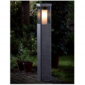Stalp iluminat exterior din fier forjat, inaltime 110cm, AL 6832