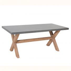 Masa pentru exterior si interior, Cement 180cm