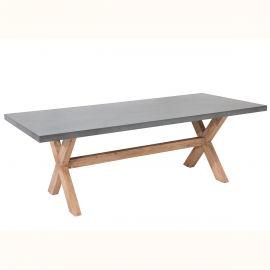 Masa pentru exterior si interior, Cement 220cm