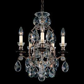 Lustra LUX 5 brate, stil baroc, cristale Heritage, Renaissance 3769 - Lux Lighting Schonbek - Lustre Cristal Schonbek