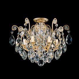 Plafoniera LUX stil baroc, cristal Heritage, Renaissance 3784 - Lux Lighting Schonbek - Plafoniere Cristal Schonbek