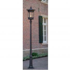 Stalp iluminat exterior din fier forjat, inaltime 306cm, AL 6873 - Robers - Stalpi Fier Forjat