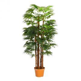 Obiecte decorative - Planta artificiala decorativa pentru exterior Palmier VERDE 153cm