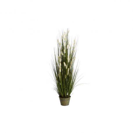 Obiecte decorative - Planta artificiala decorativa pentru exterior Spice albe 101cm
