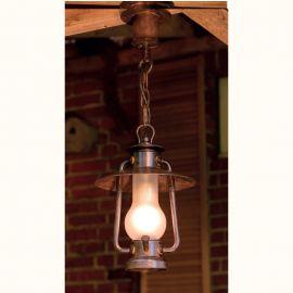 Pendul iluminat exterior din fier forjat, HL 2377-A