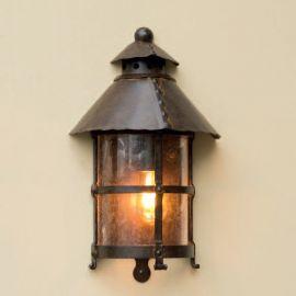 Aplica 1/2 iluminat exterior din fier forjat, WL 3459 - Robers - Aplice Exterior Fier Forjat