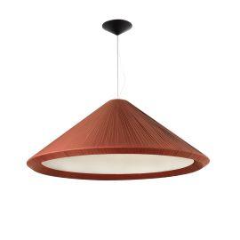 Pendule, Lustre suspendate - Lustra decorativa design XXL HUE burgundy