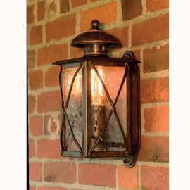 Aplica iluminat exterior din fier forjat WL 3412-A