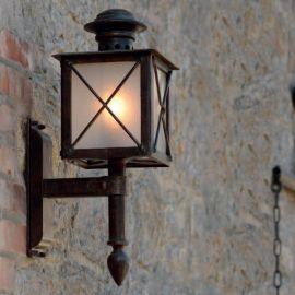 Aplica iluminat exterior din fier forjat WL 3609 - Robers - Aplice Exterior Fier Forjat