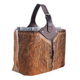 Suport pentru reviste din piele naturala Hide - Evambient VC - Parfumuri de camera, Idei cadouri, Obiecte decorative