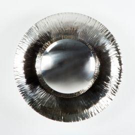 Aplica de perete metal design retro Abner nickel - Evambient TN - Aplice