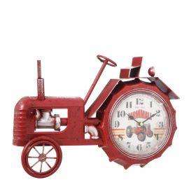 Ceas decorativ design industrial vintage Tractor