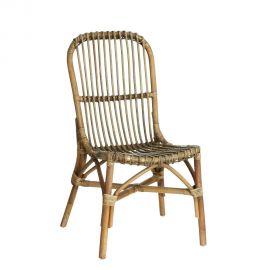 Set de 2 scaune design rustic Rattan, NATURAL - Evambient SX - Seturi scaune, HoReCa
