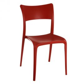 Set de 2 scaune din polipropilena Monika, rosu - Evambient SX - Seturi scaune, HoReCa