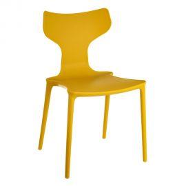 Set de 2 scaune din polipropilena Monica, galben - Evambient SX - Seturi scaune, HoReCa