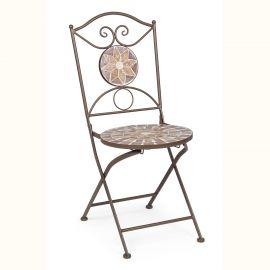 Set de 2 scaune pentru exterior ALESHA - Evambient BZ - Scaune