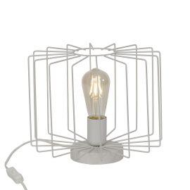 Veioza / Lampa de masa design retro ONELIA alba - Evambient BL - Veioze