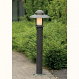 Stalp iluminat exterior din fier forjat, inaltime 100cm, AL 6521 - Robers - Stalpi Fier Forjat