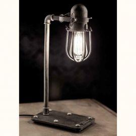 Lampa de masa design industrial din fier forjat TL 4101 - Robers - Veioze, Lampadare Fier Forjat