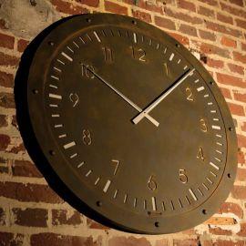 Ceas design industrial din fier forjat B 8708
