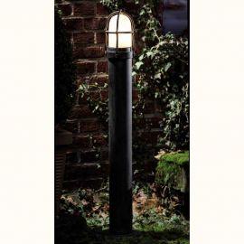 Stalp iluminat exterior din fier forjat, inaltime 110cm, AL 6790 - Robers - Stalpi Fier Forjat