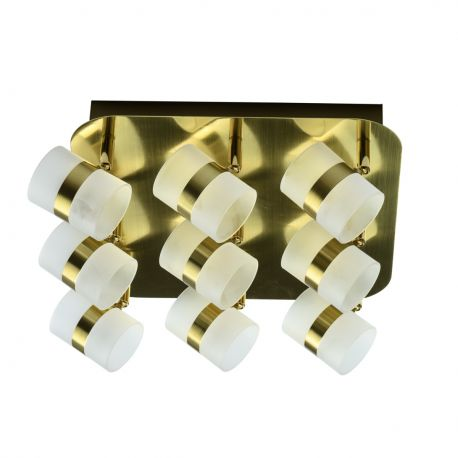 Plafoniera LED moderna cu spoturi directionabile Inka 9L - Evambient MW - Plafoniere cu spoturi, Spoturi aplicate