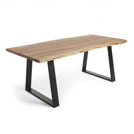 Masa design industrial-vintage SONO, 220x100cm - Evambient Barcelona Living - Mese dining