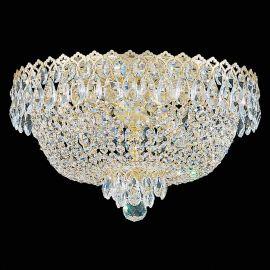 Plafoniera design LUX Crystal Gemcut, Camelot 2617 - Lux Lighting Schonbek - Plafoniere Cristal Schonbek