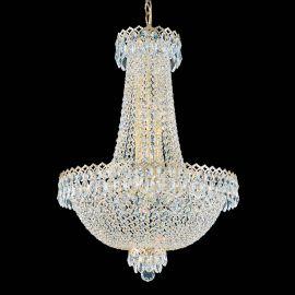 Lustra design LUX Crystal Gemcut, Camelot 2622 - Lux Lighting Schonbek - Lustre Cristal Schonbek