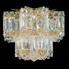 Plafoniera design LUX Crystal Gemcut, Equinoxe 2731 - Lux Lighting Schonbek - Plafoniere Cristal Schonbek