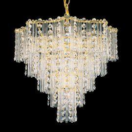 Lustra design LUX Crystal Gemcut, Jubilee 2648 - Lux Lighting Schonbek - Lustre Cristal Schonbek