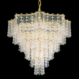 Lustra design LUX Crystal Gemcut, Jubilee 2650 - Lux Lighting Schonbek - Lustre Cristal Schonbek