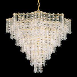 Lustra design LUX Crystal Gemcut, Jubilee 2652 - Lux Lighting Schonbek - Lustre Cristal Schonbek