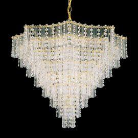 Lustra design LUX Crystal Gemcut, Jubilee 2654 - Lux Lighting Schonbek - Lustre Cristal Schonbek